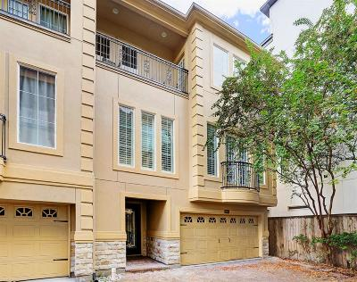Rice Military Condo/Townhouse For Sale: 4119 Barnes Street