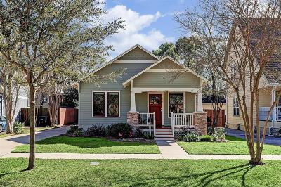 Houston Single Family Home For Sale: 626 E 13th 1/2 Street