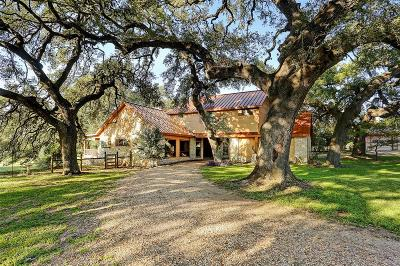 Round Top Single Family Home For Sale: 205 Bauer Rummel Road