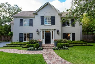 River Oaks Single Family Home For Sale: 2112 Brentwood Drive
