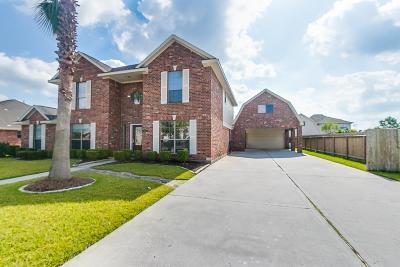 Manvel Single Family Home For Sale: 3827 Saddle Horn Court