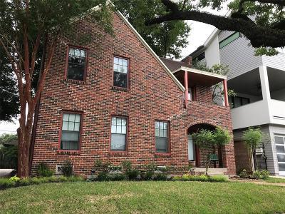 Houston Multi Family Home For Sale: 419 W Saulnier Street
