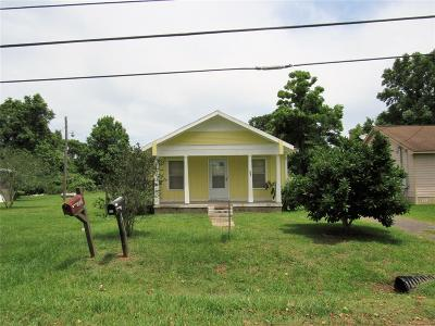 Liberty Single Family Home For Sale: 921 Lamar