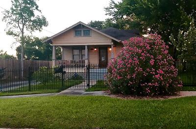 Houston Single Family Home For Sale: 1135 W 18th Street