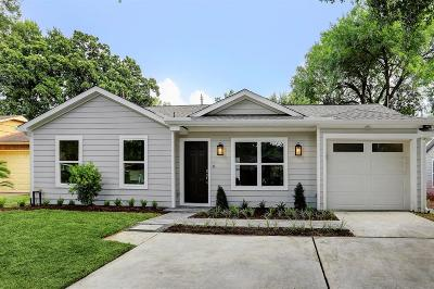 Houston Single Family Home For Sale: 1839 Libbey Drive