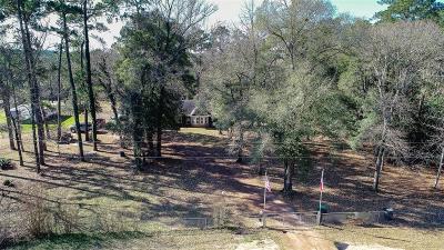 San Jacinto County Single Family Home Option Pending: 3250 Fm 1725 Road