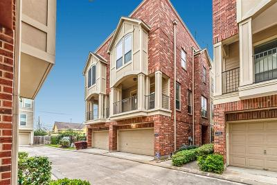 Houston Condo/Townhouse For Sale: 2304 Bastrop Street