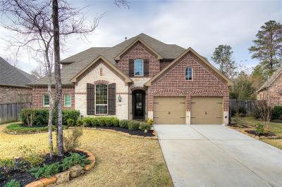 Montgomery Single Family Home For Sale: 111 Carapace Cove Place