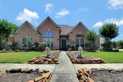 Katy Single Family Home For Sale: 6831 Crystal Point Drive