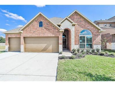 Conroe Single Family Home For Sale: 3417 Hickory Leaf Trail