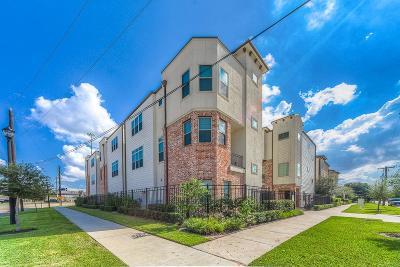 Houston Single Family Home For Sale: 2211 Chenevert Street #D