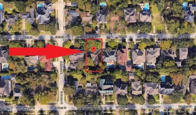 Bellaire Residential Lots & Land For Sale: 4533 Birch Street