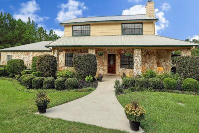Montgomery Single Family Home For Sale: 2286 Spring Branch Road