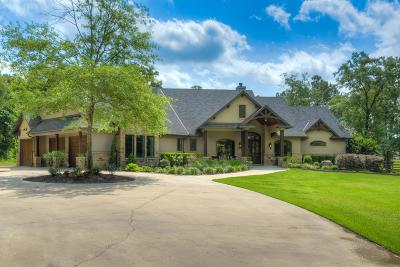 Montgomery TX Single Family Home For Sale: $1,300,000
