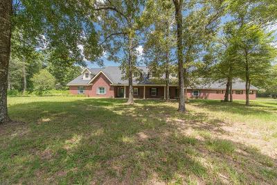 Conroe Single Family Home For Sale: 11062 S Hidden Oaks
