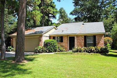 The Woodlands Single Family Home For Sale: 20 N Wavy Oak Circle