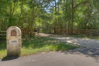 Single Family Home For Sale: 40006 Gable Circle