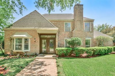 Houston Single Family Home For Sale: 819 Silvergate Drive