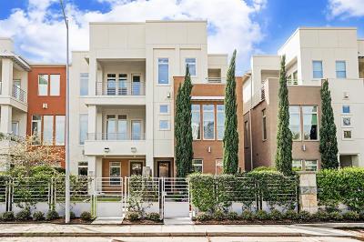 Houston Condo/Townhouse For Sale: 5425 Hidalgo Street #D