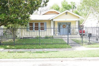 Houston Single Family Home For Sale: 1127 Walling Street