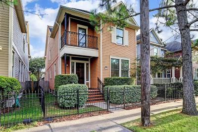 Houston Single Family Home For Sale: 1248 W 22nd Street