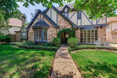 Single Family Home For Sale: 15607 Ten Oaks Drive