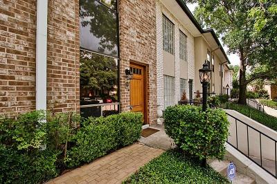 Houston Condo/Townhouse For Sale: 1802 Stoney Brook Drive #104