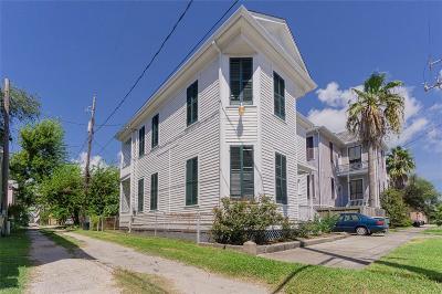 Galveston Single Family Home For Sale: 811 18th Street