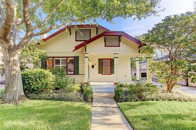 Houston Single Family Home For Sale: 807 Key Street