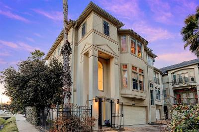 Houston Condo/Townhouse For Sale: 4516 Rose Street