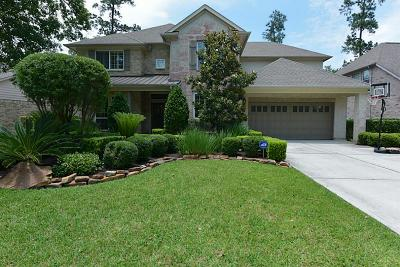 The Woodlands Single Family Home For Sale: 103 Millsap Circle