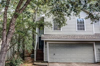 The Woodlands TX Condo/Townhouse For Sale: $150,000