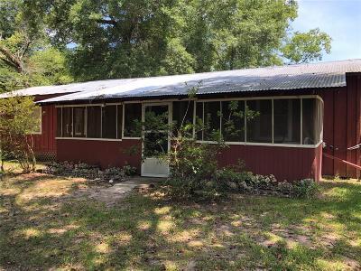Polk County Single Family Home For Sale: 365 Coushatta Trail