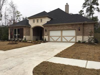 Conroe TX Single Family Home For Sale: $349,990