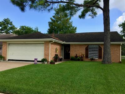 Pearland Single Family Home For Sale: 2923 S Peach Hollow Circle