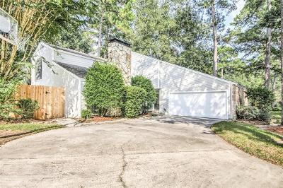 Kingwood Single Family Home For Sale: 2119 Woodstream Drive