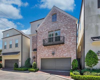 Houston Single Family Home For Sale: 1956 Woodbury Street