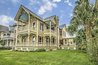 Galveston TX Single Family Home For Sale: $725,000