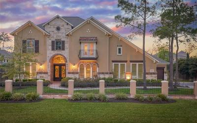 The Woodlands Single Family Home For Sale: 7212 Lake Paloma Trail