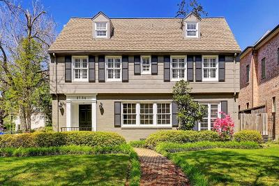 Houston TX Single Family Home For Sale: $1,325,000