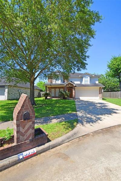 La Porte Single Family Home For Sale: 9313 Tejas Court