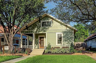 Houston Single Family Home For Sale: 1222 Columbia Street
