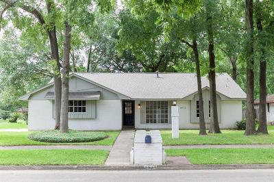 Houston Single Family Home For Sale: 8472 Claiborne Street