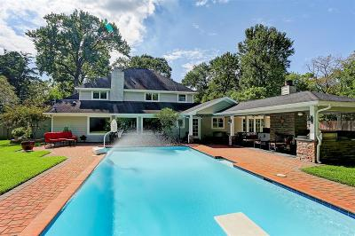 Houston Single Family Home For Sale: 834 Piney Point Road
