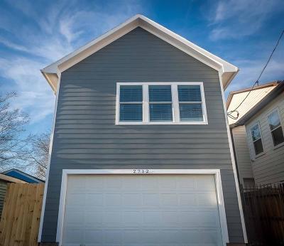 Houston Single Family Home For Sale: 2712 Commerce Street