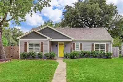 Houston TX Single Family Home For Sale: $529,000