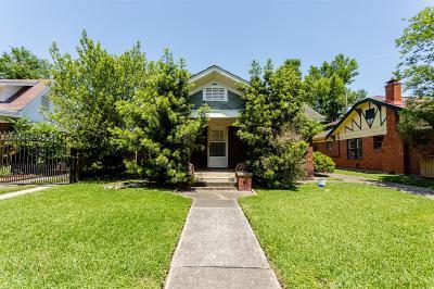 Houston Single Family Home For Sale: 1912 Harold Street