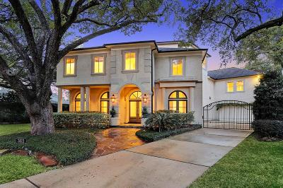 Houston TX Single Family Home For Sale: $1,725,000