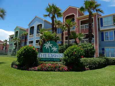 Galveston TX Condo/Townhouse For Sale: $190,000