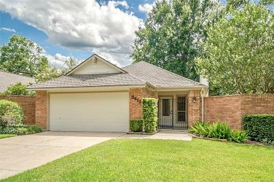 Kingwood Single Family Home For Sale: 3411 Valley Gardens Drive